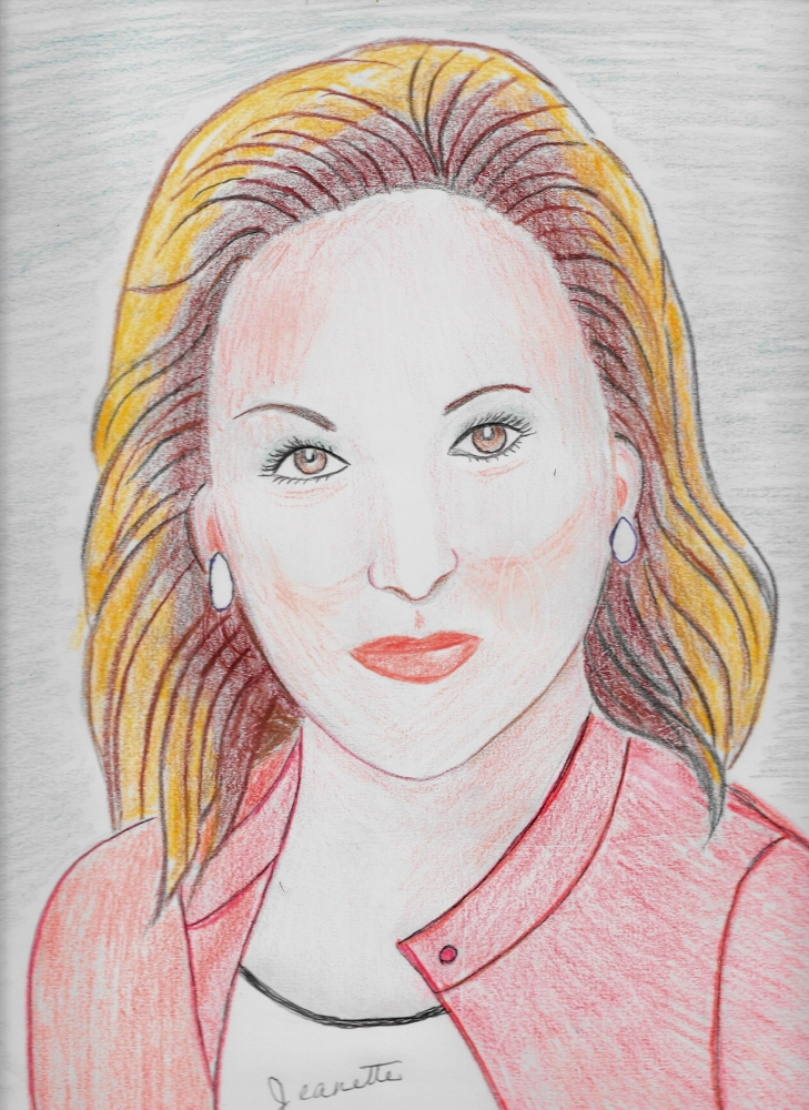 Meryl Streep by Jeanette